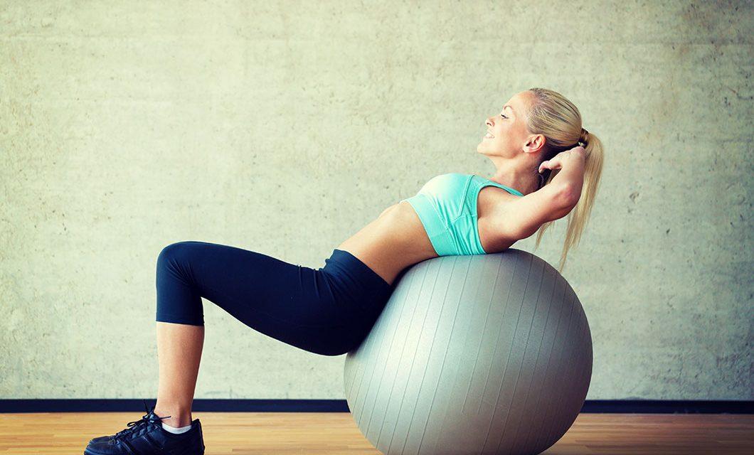 Тренировки и упражнения с использованием фитбола на мышцы всего тела!