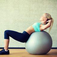 Упражнения на фитболе для похудения на мышцы всего тела